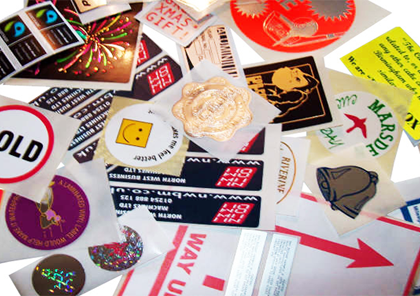 Sticker Printing Types